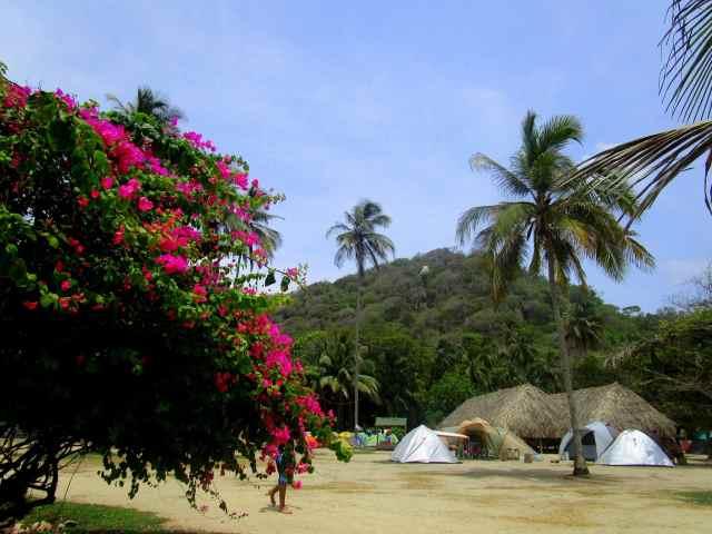 Campingplatz Cabo San Juan de Guia