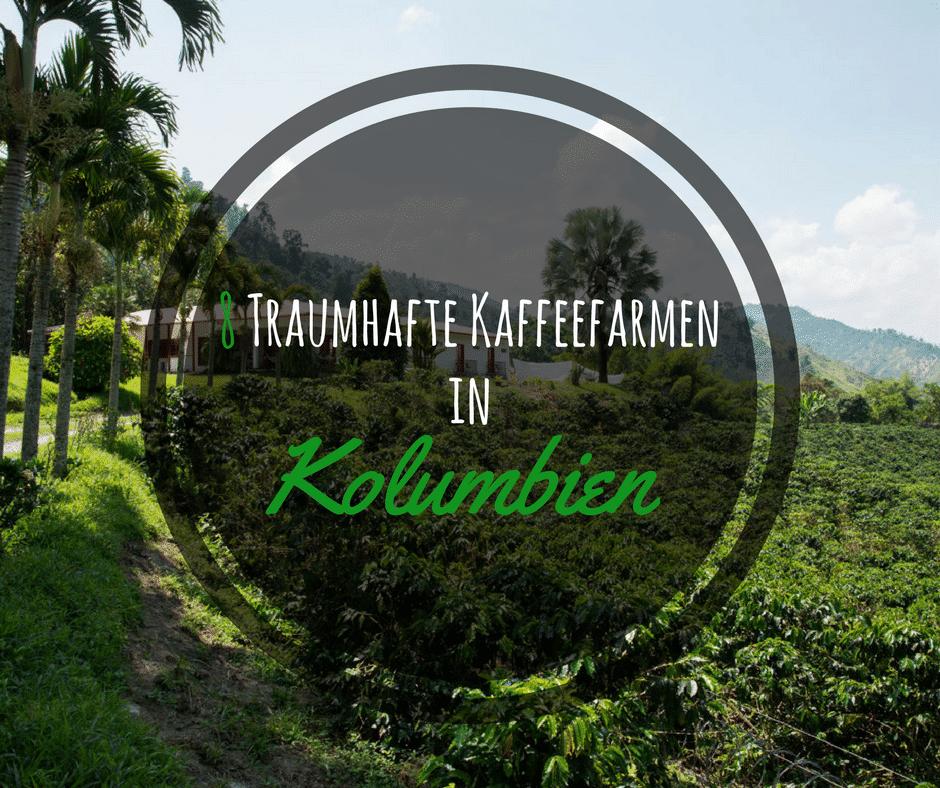 8 Traumhafte Kaffeefincas mit Tourenangebot