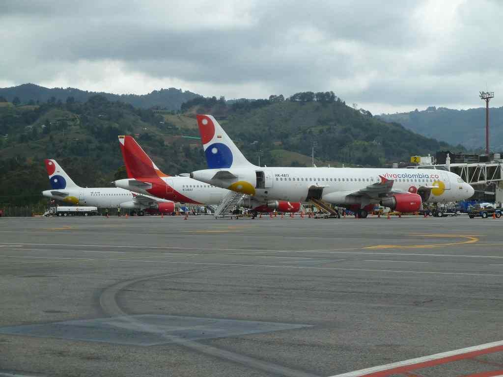 Traslados a los aeropuertos en Colombia (Medellín, Bogotá, Cali, Santa Marta)