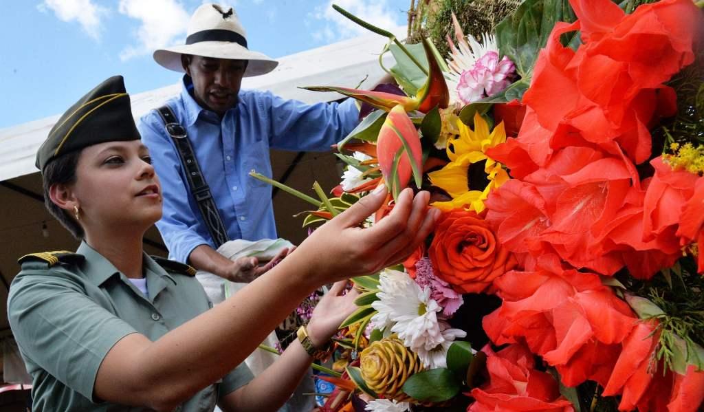 Feria de las Flores Kolumbien