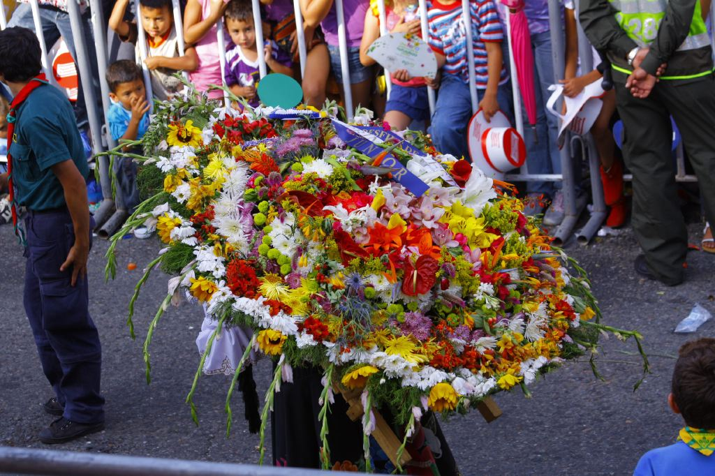 Blumenparade Feria de las flores