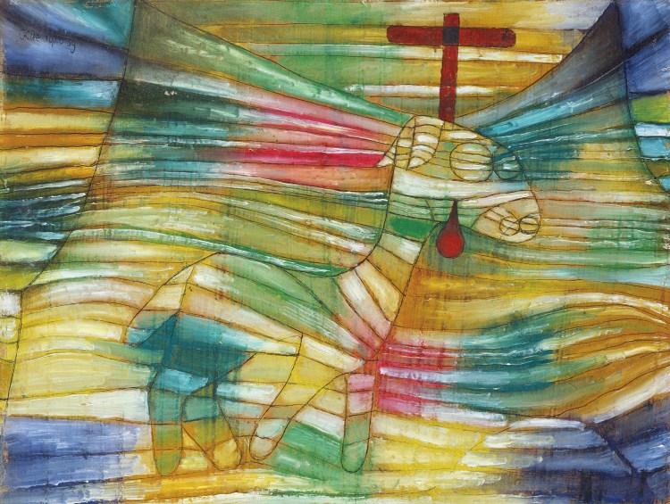 パウル・クレー「子羊」1920年