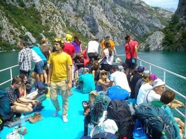 Ferry Berisha in Koman Lake (18)