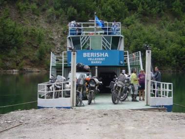 Ferry Berisha in Koman Lake (9)