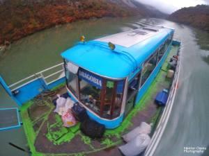 komani lake boat dragobia