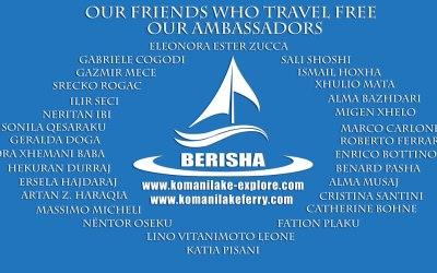 Komani Lake Ferry & Friends / Ambasadors