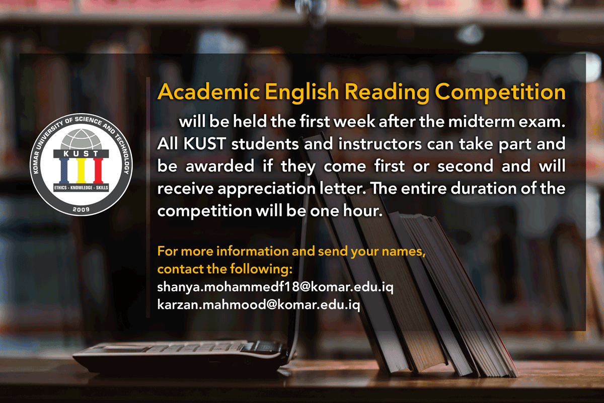 Academic-English-Reading-Competition
