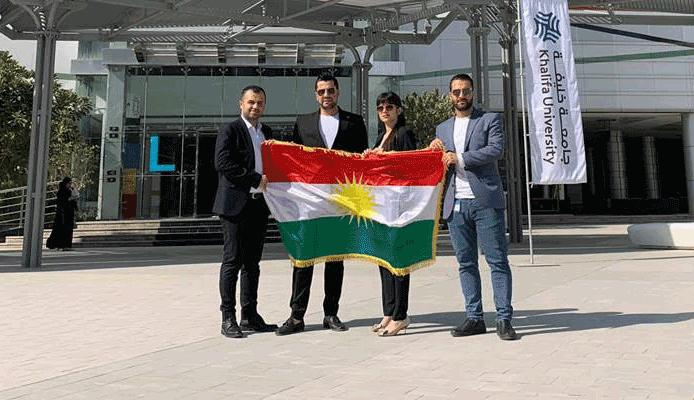 طلاب جامعة كومار يحققون المركز الرابع في أبو ظبي