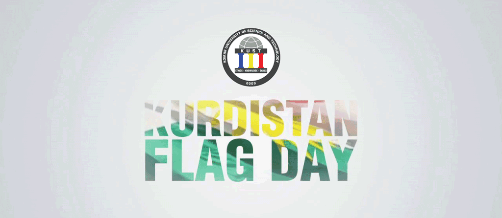 KUST proudly honors Kurdistan's Flag Day 2018