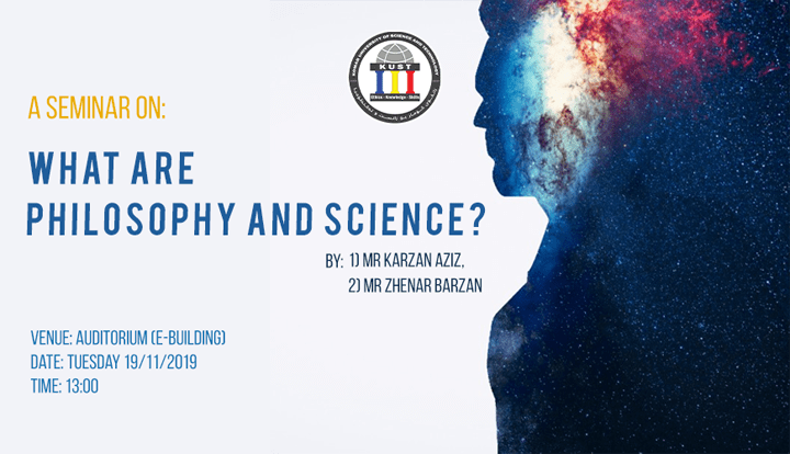 A Seminar on What are Philosophy and Science