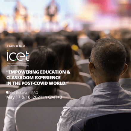 KUST is invited as a supporting partner to ICET 2021