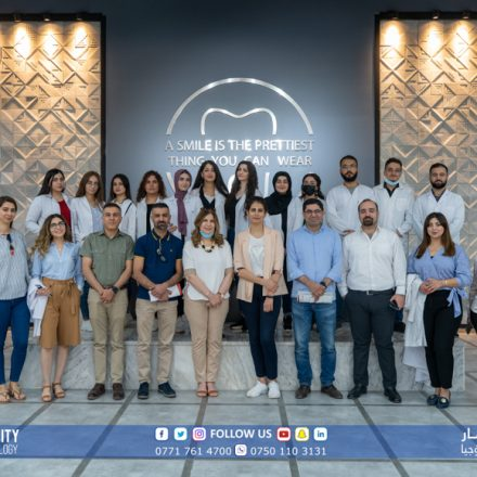 Demonstration of Digital Dentistry in cooperation with Al-Shara'a Company