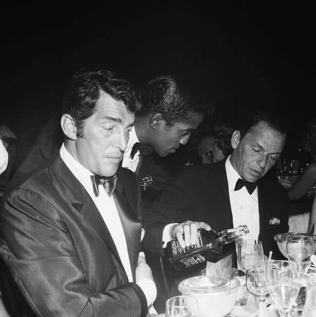 PROD Rat Pack Members With A Bottle Of Jack