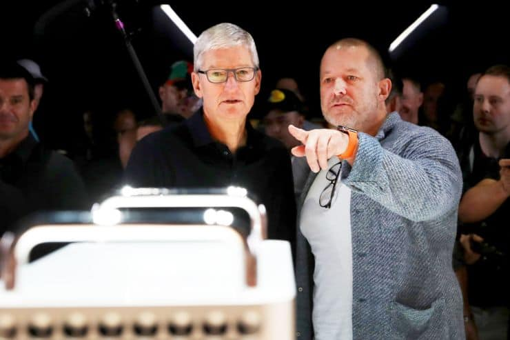 Tim Cook Calls Report About Jony Ive's Departure From Apple 'Absurd'