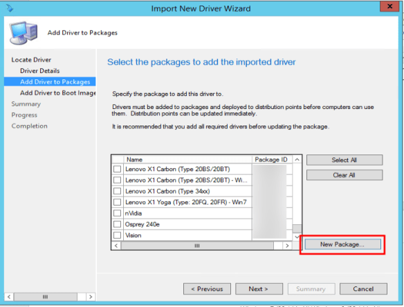 How to Create a Drive Package in SCCM 2012kombitz   kombitz