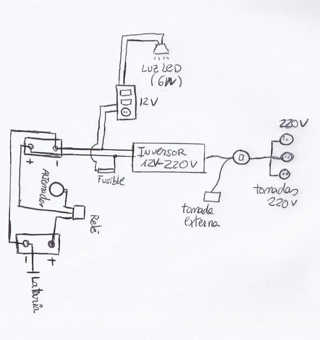El Sistema Electrico Kombi Valentina