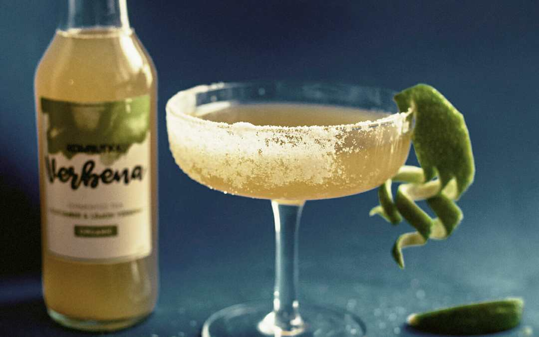Komburita – kombucha margarita cocktail