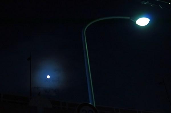スーパームーン 2014年9月9日