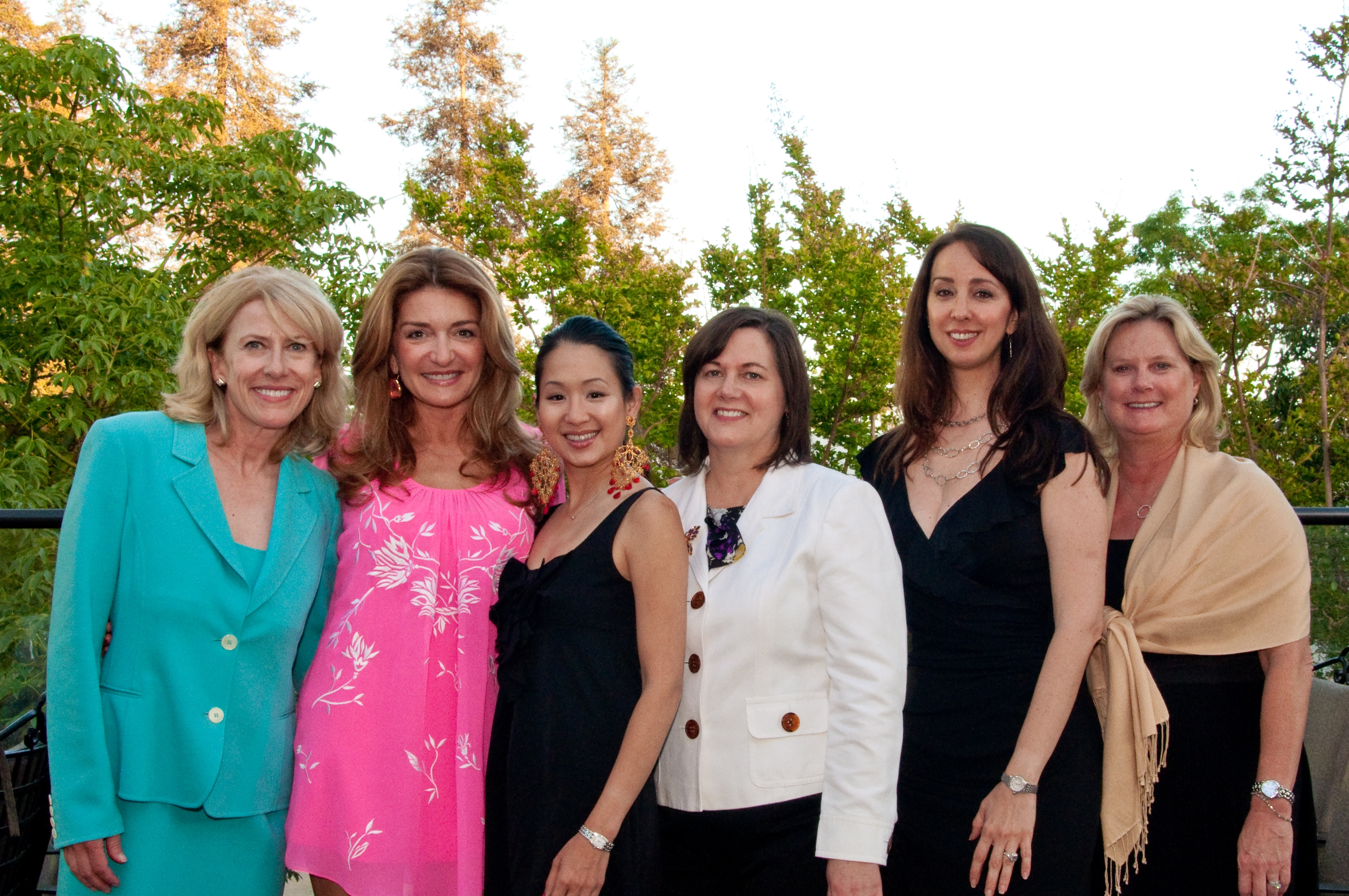 From L to R: Sue Parks, Analisa Ocana-Albert, Sharon Chan, Aletha Anderson, Marica Pendjer and Sally Molnar