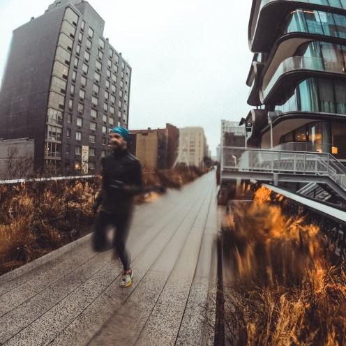 Löpning på High Line