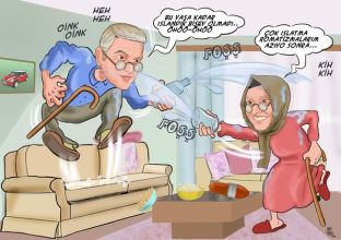 Aile-akraba karikatürleri