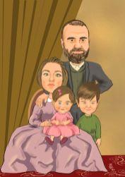 Eski-donem-aile-tablosu-karikaturu
