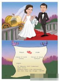 Nazli-cem karikatur-davetiye