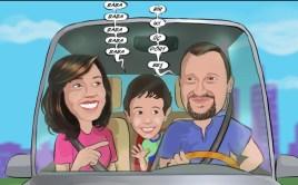 Aile-karikaturu