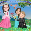 Anneler-gunu-icin-cocuklardan-karikatur-hediyesi