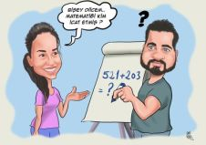Kiz-arkadas-ve-matematik-sorunu-dogum-gunu-karikaturu