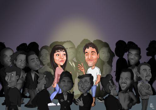 Kalabalikta-ikimiz-temali-karikatur