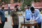 Bupati Lantik 177 Pejabat dan Kepala Sekolah Negeri di Lingkungan Pemkab Cilacap