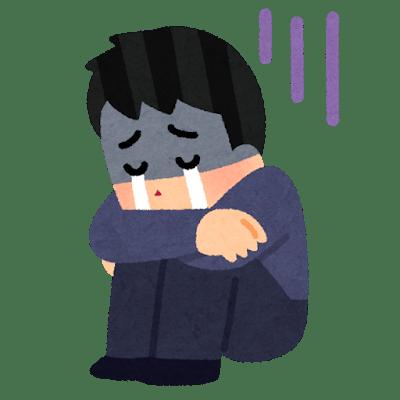 泣き寝入り