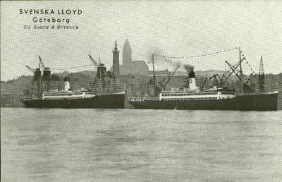 SS Suecia och SS Britannia