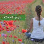 Logotipo de grupo de KOMME | yoga