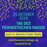 Tag des feministischen Radios im bermuda.funk