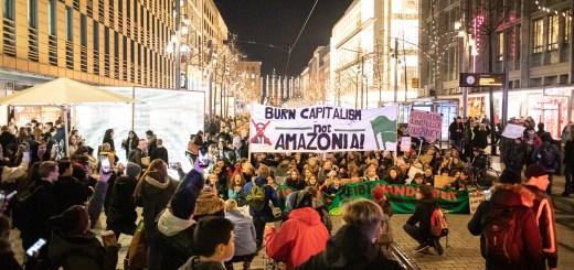 """""""Klimaschutz bleibt Handarbeit"""" - Fridays for Future erneut mit großen Demos in Mannheim und Heidelberg [mit Bildergalerie und Video]"""