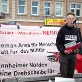 """Protesttag: Kundgebung und Fahrradcorso gegen Militärmanöver """"US-Defender Europe 2020"""" [mit Bildergalerie und Video]"""