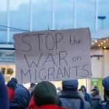 Lyrik zu einem ernsten Thema - Situation der Geflüchteten an einer EU-Außengrenze