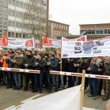 Aktionstag bei Bombardier: Sicherheit für den Mannheimer Standort!