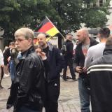 Heidelberg: Nazis, Querfront und antifaschistischer Protest auf dem Uniplatz