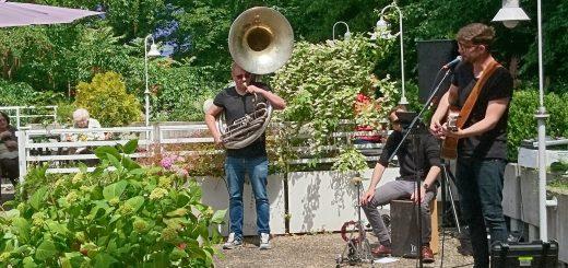 Konkrete Solidarität: Musikkonzert im Ida-Scipio-Heim
