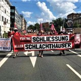 Animal Rights Watch (ARIWA)-Schweigemarsch in Mannheim