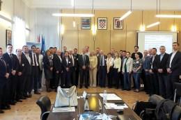 Workshop in Vukovar, Kroatien im April 2017, Austausch zu den Schwerpunkten der EUSDR zur Wettbewerbsfähigkeit und Internationalisierung von KMU im Bereich Bioökonomie in der Donauregion