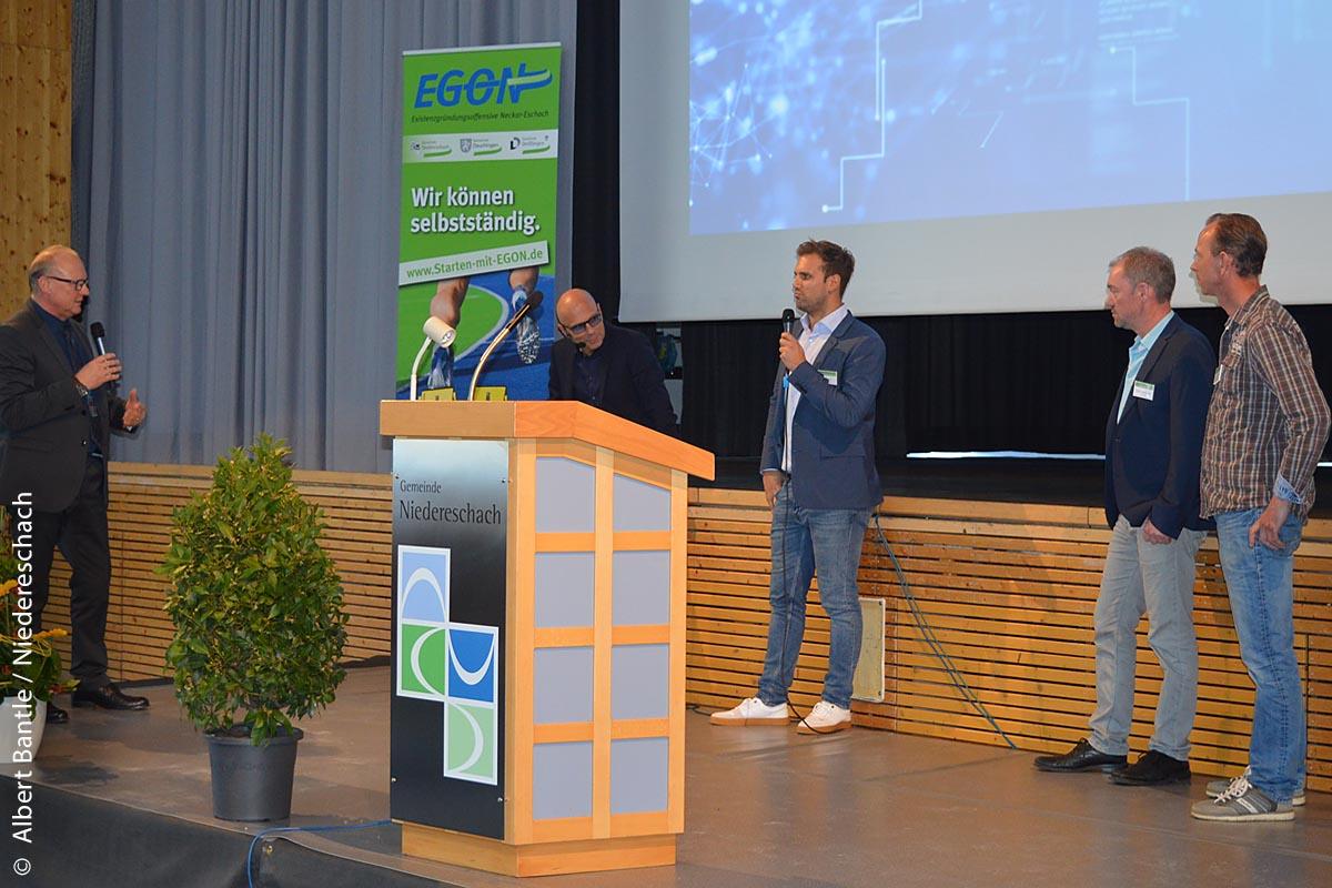 Niedereschacher Existenzgründertag 2018: Vorstellung junger Unternehmer