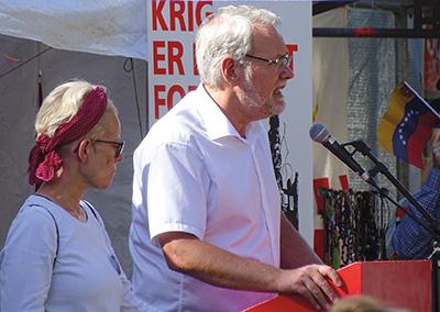 Dennis Kristensen, formand for FOA