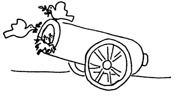 kanon-med-duer
