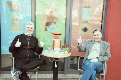 Mitarbeiter Patrick Bolk und Firmengründer Peter Kodidl