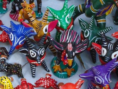 La cerámica fantástica de Ocumicho