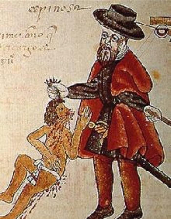 La esclavitud indígena en la Nueva España